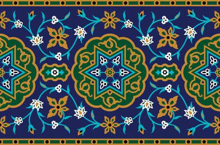 seamless: Arabic Seamless Border