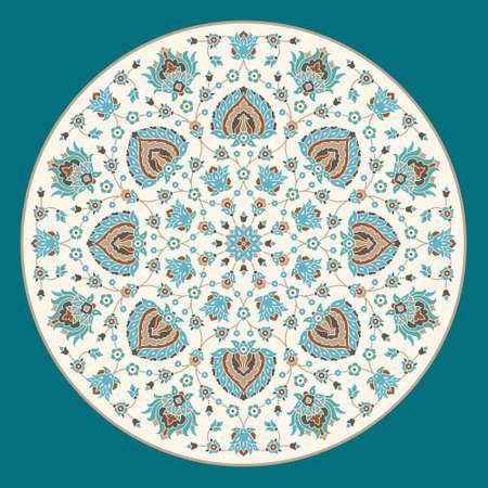 religion  herb: vintage floral ornament Illustration