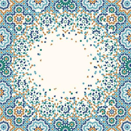 Marokko Disintegration Rahmen Standard-Bild - 55482758