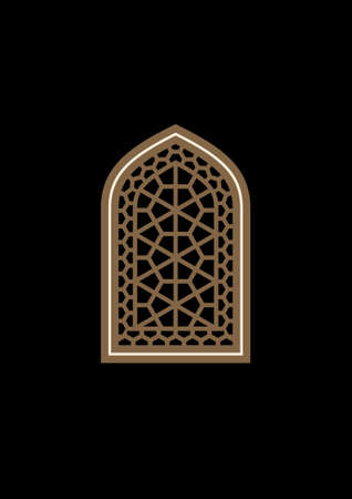 arch: Traditional Arabic Geometric Window