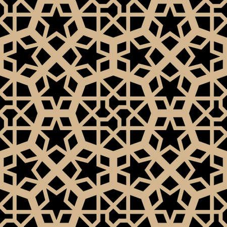 mosaic: Arabic Seamless Pattern Illustration