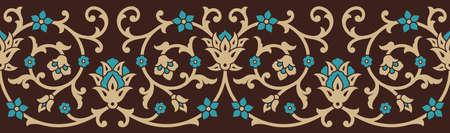 Klasyczny Jednolite kwiatowy granicy