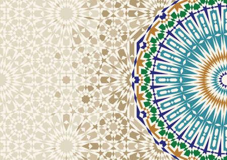 Morocco Mosaic Template