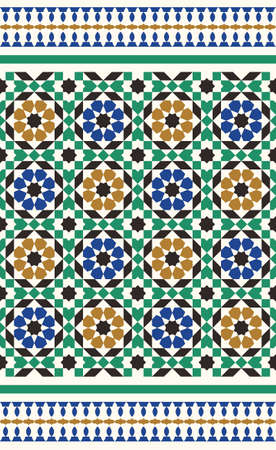 moulding: Morocco Seamless Border