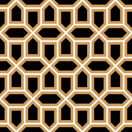 Morocco Seamless Pattern. Traditional Arabic Islamic Background. Mosque decoration element. Vector Illustration