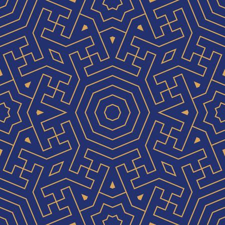 Morocco Seamless Border. Traditional Islamic Design. Mosque decoration element