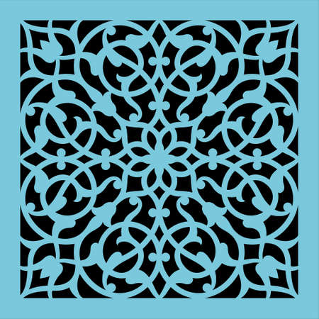 Arabic Floral Ornament. Traditional Islamic Design. 向量圖像
