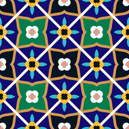 Arabic Floral Seamless Pattern. Traditional Arabic Islamic Background.