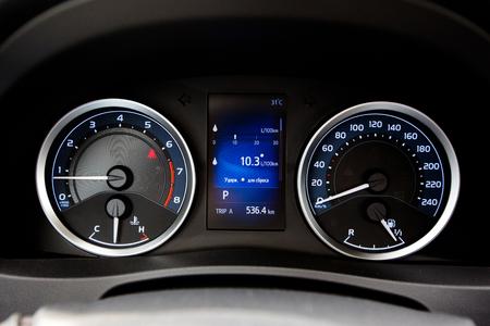 dashboard: Modern style car dashboard