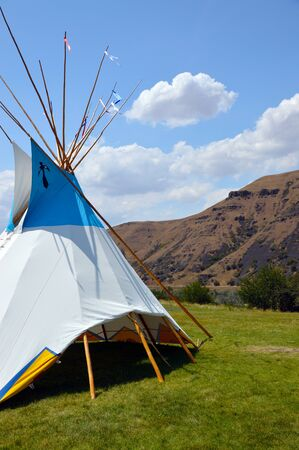wigwam: Wigwam Authentic teepee of Native North Americans