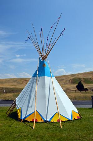wigwam: Wigwam Authentic teepee of Native North Americans