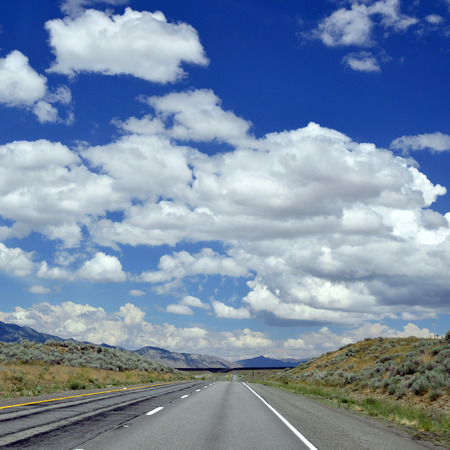 American Road durable coating in the picturesque places of the country