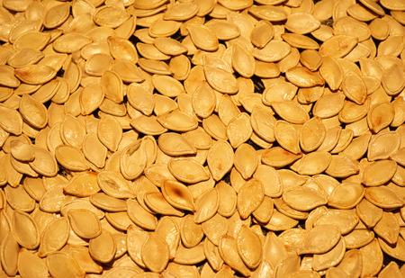 Fried pumpkin seeds delicious healthy organic macro