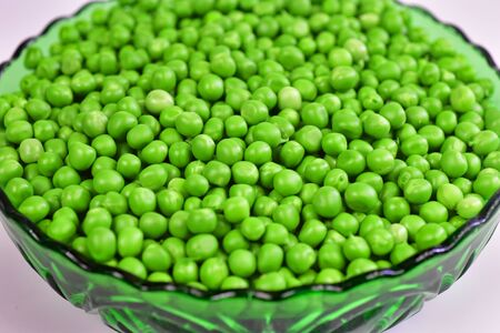 Sweet peas delicious fresh crunchy green vegetable