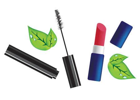ceremonial makeup: Cosmetics  illustration