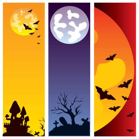 Halloween vertical banners  Stock Photo - 5568973