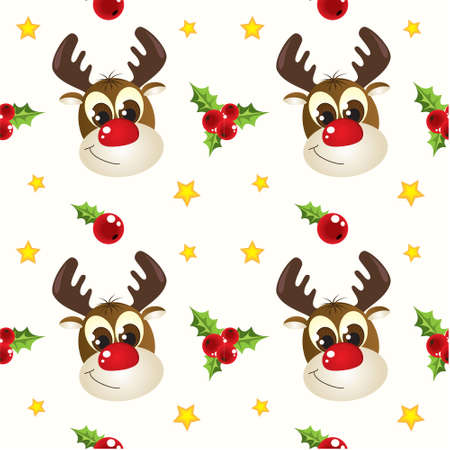 Circular Christmas pattern Stock Photo - 5907705