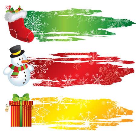 Christmas banners photo