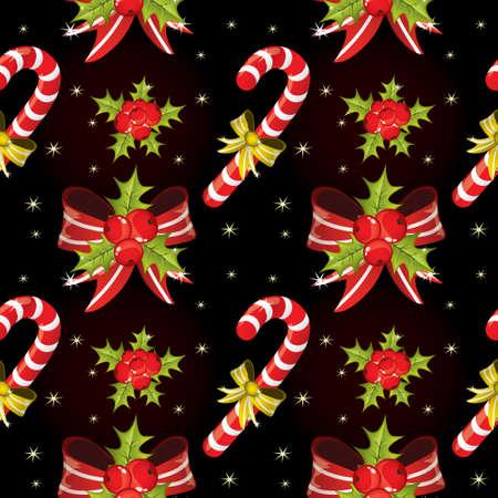Seamless Christmas pattern photo