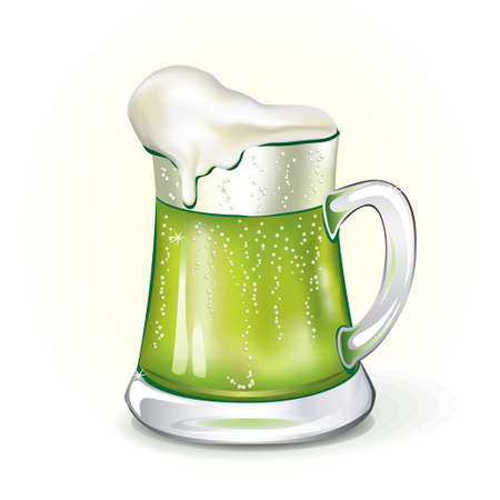 Mug of ale, vector  Stock Vector - 8815140