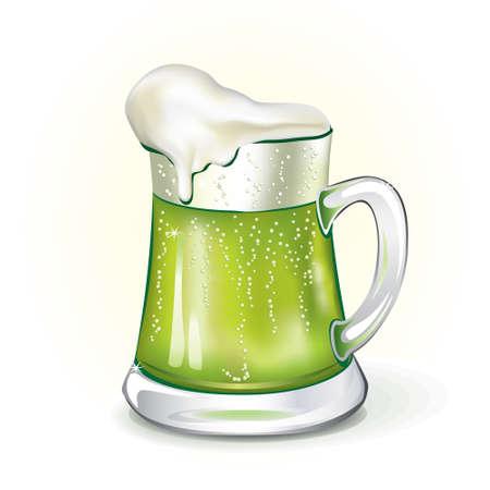 ale: Mug of ale, vector