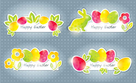 Easter banners Stock Vector - 12907653
