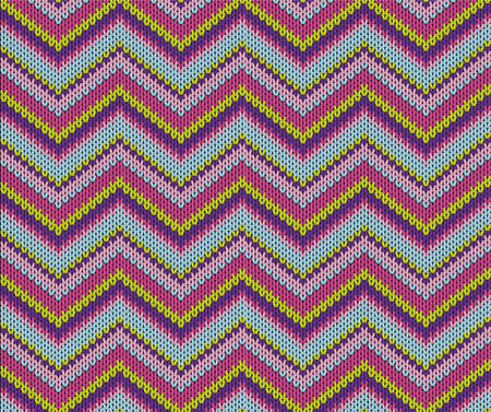 wool texture:  Seamless violett knitted pattern