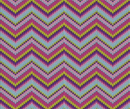 violett:  Seamless violett knitted pattern