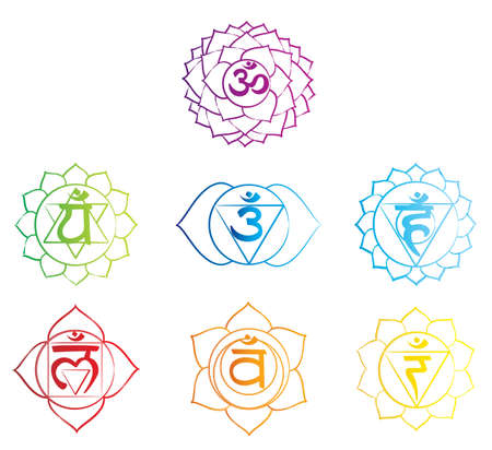 Chakra Symbol Vector
