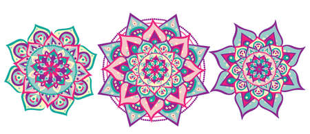 shankar: Mandala set Illustration