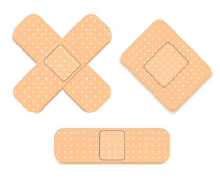 band aid: Adhesive bandage set