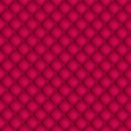 Red quilted background Stock Vector - 20735592