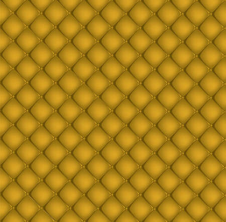 Yellow quilted background Vector