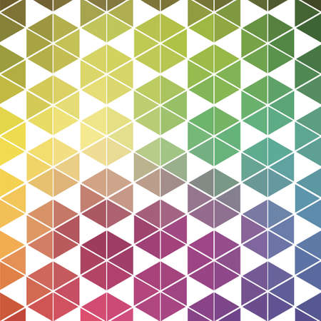 Colorful digital mosaic background Vector