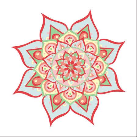 Vector illustrated mandala