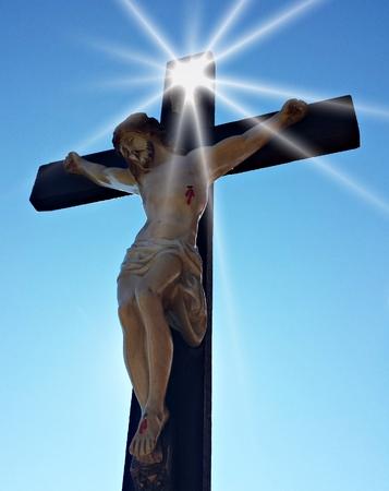 Jesus light Reklamní fotografie - 32982063