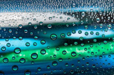 condensacion: gotas de agua de condensación -, Close - up