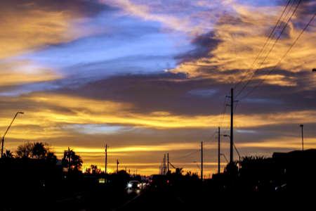 gilbert: Sunset in gilbert AZ