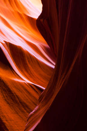Lower Antelope Sandstone Beauty. Colorful sandstone formations inside lower antelope canyon, Arizona