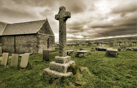 croce celtica: Croce celtica da Tintagel, Cornovaglia, Inghilterra