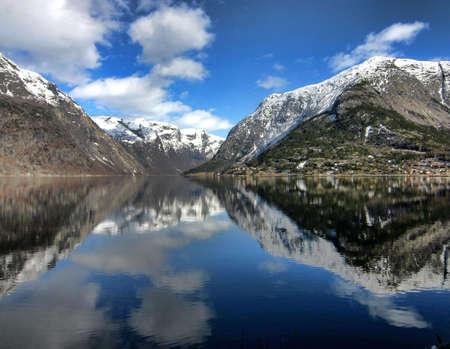 hardanger: Mountains surrounding Hardanger Fjord, Norway