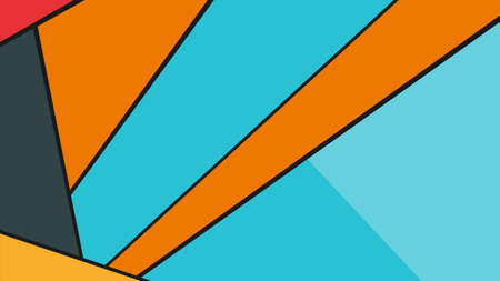 vector illustration of an abstract colorful background with lines