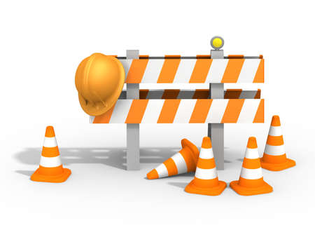 job security: under construction sign