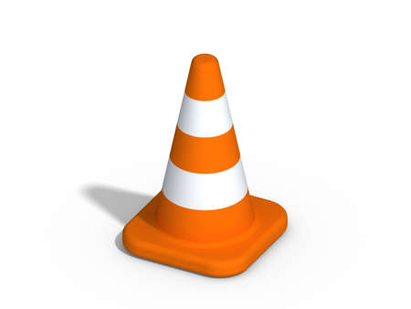 traffic cone: under construction cone