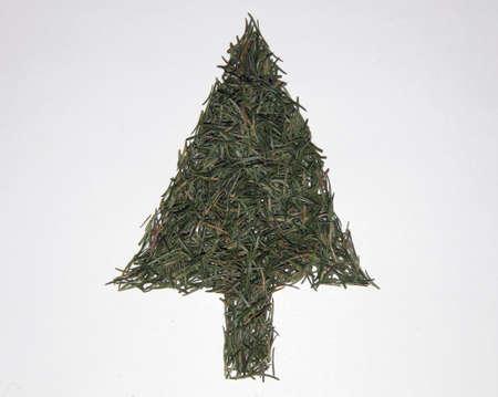 Christmas tree with needles