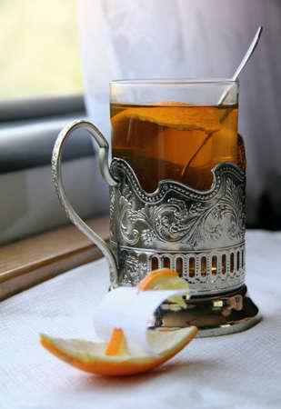 hot tea with orange dream