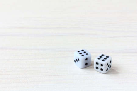 pair of dice fell with two sixes / the most successful combination