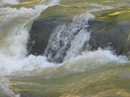 blustery stream of mountain river in Carpatians Stock Photo - 762585