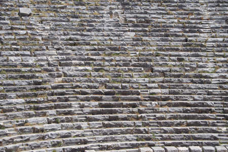 amphitheatre: lines made by amphitheatre seats