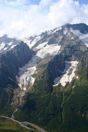 dombai: Main Caucasus range. Dombai, Caucasus, Russia